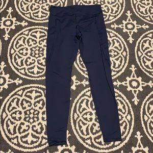Forever 21 Navy Blue Pocket Leggings